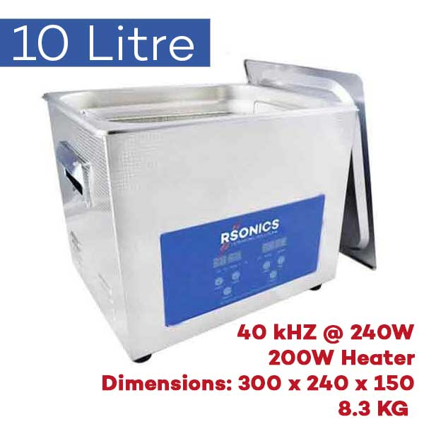 10 Litre Ultrasonic Cleaner