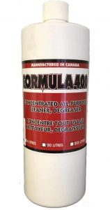 Formula 400 Ultrasonic Cleaner Solution